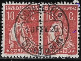 PORTUGAL 10C Ceres -Marcofilia CELORICO Da BEIRA R:2. N/C Cliche. VFU No Faults - Unclassified