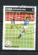 CUBA  Coupe Du Monde D Espagne 1982 N°2386 - Used Stamps