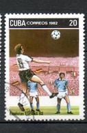 CUBA  Coupe Du Monde D Espagne 1982 N°2387 - Used Stamps