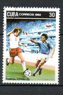 CUBA  Coupe Du Monde D Espagne 1982 N°2388 - Used Stamps