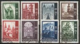 Satz Salzburger Dom Michel 885 - 892 - 1945-60 Used