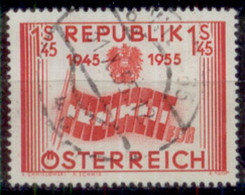 10 Jahre Republik Michel 1014 - 1945-60 Used