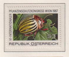 AUSTRIA  -  1967 Colorado Beetle 3s Never Hinged Mint - 1961-70 Unused Stamps