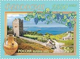 RUSSIE/RUSSIA/RUSSLAND/ROSJA 2021** MI..3015,ZAG..2791,YVERT. Feodosia Town MNH ** - Unused Stamps