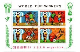 Football Argentina 1978 Bloc DPRK Korea - Holland Brasil - Mario Kempez - 1978 – Argentina