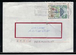 YT  3359  SSL/FR  OBL FLAMME HERIMONCOURT 22/11/91   LUCIEN QUELOT MYCOLOGUE ET MEDECIN - 1961-....