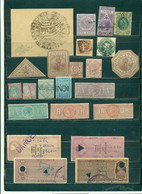 India, 23 No Postage, Service, Tax Stamps, Revenue Court Fee , Old Rare! - Other