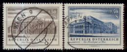 Burgtheater, Staatsoper Michel Nr. 1020, 1021 - 1945-60 Used