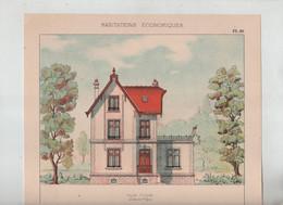 Habitations Economiques Petite Villa à Chambéry - Architectuur