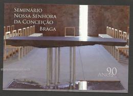 Portugal Séminaire Notre Dame Conception Braga Eglise Catholicisme Carte Entier Postal 2015 Church Postal Stationery - Postal Stationery