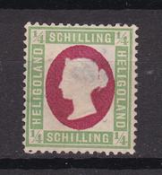Helgoland - 1873 - Michel Nr. 8 F ND - Ungebr. - Heligoland