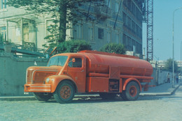 PORTUGAL   PHOTO  - PHOTOGRAPHY - BOMBEIROS MATOSINHOS - LEÇA - FIREMEN'S VEHICLE  - 12 Cm X 15,3  Cm - Automobile