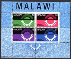 MALAWI - 1967 INDUSTRIAL DEVELOPMENT MS FINE MNH ** SG MS289 - Malawi (1964-...)