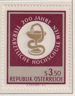AUSTRIA  -  1968 Veterinary College 3s50 Never Hinged Mint - 1961-70 Unused Stamps