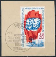 RDA- Conférence Des PC Européens YT 1822 Obl. / DDR-Konferenz Der Kommunistischen Parteien Mi.Nr. 2146 Gest. - Used Stamps