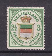 Helgoland - 1876 - Michel Nr. 17 ND - Ungebr. - Heligoland