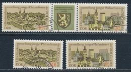 RDA- 4e Exposition Philatélique De La Jeunesse YT 1829-1830A Obl. / DDR-Briefmarkenausstellung Mi.Nr. 2153-2154 Gest. - Used Stamps