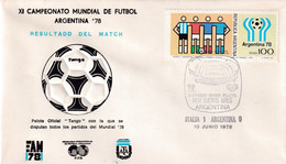 Argentina 1978 Cover: Football Soccer Fussball Calcio: FIFA World Cup Mundial 78 Official Ball Tango; Italy . Argentina - 1978 – Argentina