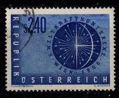 Weltkraftkonferenz Michel 1026 - 1945-60 Used