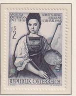 AUSTRIA  -  1968 Kauffmann 2s Never Hinged Mint - 1961-70 Unused Stamps