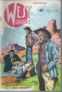 WEST ROMANCE  N° 4 -   S.E.R.  1959 - Kleinformat