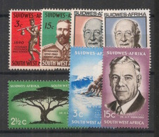 SWA / South West Africa - Années Complètes 1965-66 -  N°Yv. 278 à 284 - 7 Values - Neuf Luxe ** / MNH / Postfrisch - Namibia (1990- ...)