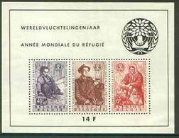 Belgium 1960 World Refugee Year Perf M/sheet U/M, SG MS 1719 - Ongebruikt