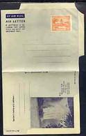 Aerogramme - British Guiana 1945/50 12c Orange (Market) Air Letter Sheet Illustrated With Kaieteur Falls, Folded  But Un - British Guiana (...-1966)