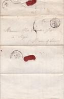 LAC 1851 De Paris   Pour Segré - 1849-1876: Klassieke Periode