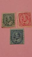 CANADA : Lot De 3 Timbres De 1903 - Portrait Du Roi George V - Used Stamps