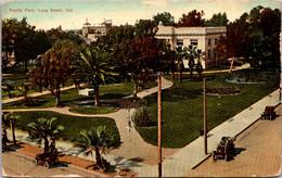 California Long Beach Scene In Pacific Park 1910 - Long Beach