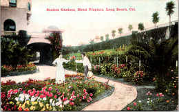 California Long Beach Hotel Virginia Sunken Gardens - Long Beach