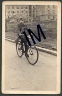 BOY SOLDIER - PARTISAN - WW2- ON A BICYCLE WITH A MACHINE GUN- DECAK VOJNIK WW2 - NA BICIKLU SA MASINKOM - Oorlog 1939-45