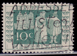 Netherlands, 1952, 100th Anniversary Of The First Dutch Stamp,10c, Used - Gebruikt