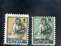 LITUANIE 1922 * - Litouwen