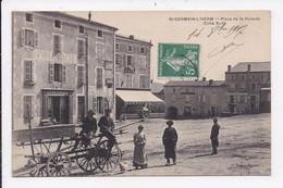 CP 63 ST GERMAIN L'HERM Place De La Rodade Coté Sud - Other Municipalities
