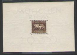 ГЕРМАНИЯ    Michel  БЛОК # 4   1936  MNH** - Blocks & Kleinbögen