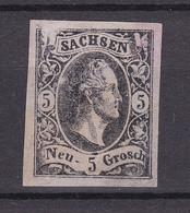 Sachsen - 1851 - Essay - Ungebr. - Saxony