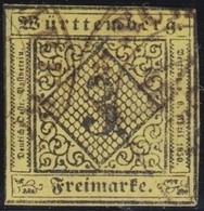 Wurttemberg     .    Michel     .   2       .   O        .     Gestempelt - Wurttemberg
