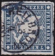 Wurttemberg     .    Michel     .    35  (2 Scans)      .   O        .     Gestempelt - Wurttemberg