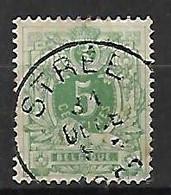 OCB Nr 45 Lion Leeuw Centrale Stempel Stree - 1869-1888 Lion Couché