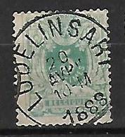 OCB Nr 45 Lion Leeuw Centrale Stempel Lodelinsart - 1869-1888 Lion Couché