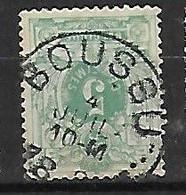 OCB Nr 45 Lion Leeuw Centrale Stempel Boussu - 1869-1888 Lion Couché