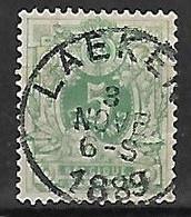 OCB Nr 45 Lion Leeuw Centrale Stempel Laeken - 1869-1888 Lion Couché