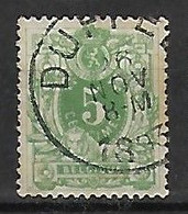 OCB Nr 45 Lion Leeuw Centrale Stempel Duffel - 1869-1888 Lion Couché