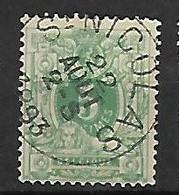 OCB Nr 45 Lion Leeuw Centrale Stempel St Nicolas - 1869-1888 Lion Couché