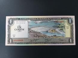 SALVADOR 1 COLON 1980 NEUF/UNC - El Salvador