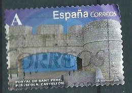 ESPAGNE SPANIEN SPAGNA SPAIN ESPAÑA 2015 FROM CARNET ARCHS-DOORS:SANT PERE, PEÑÍSCOLA USED ED 4927 MI 4934 YT 4639 SC 40 - 2011-... Usati