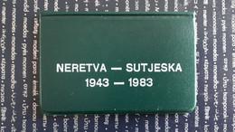 Yougoslavie Set De 2 Pièces 10 Dinar 1983 - Yugoslavia