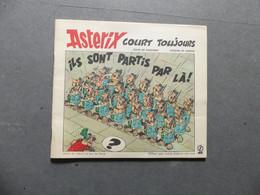 Astérix Court Toujours  Offert Par Votre Station-service Elf - Sonstige Comic-Artikel